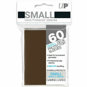 60 Ultra Pro Brown Deck Protectors Trading Card Gaming Sleeves.