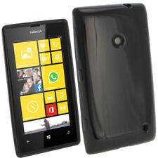 Custodie preformate/Copertine nero Per Nokia Lumia 520 per cellulari e palmari