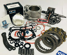 06+ TRX450R TRX 450R Stock Cylinder Complete Engine Motor Rebuild Kit W/ Clutch
