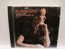 JO ANN KELLY talkin' low (rare + unissued 1966-88) CD UK  brit blues oop L@@K