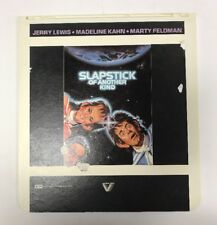 """Jerry Lewis """"Slapstick of Another Time"""" (1982) CED Laserdisc Rare 1982 SCI FI"""