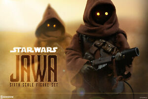Sideshow Collectibles Star Wars: A New Hope JAWA Sixth Scale Figure Set (100122)