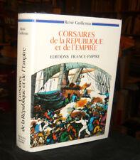 Envoi Guillemin René Corsaires De La République Et De L'Empire Marine