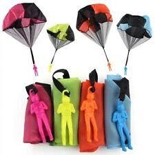 Paracaidista de juguete para niños y niñas paracaídas aire libre