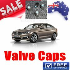 4 x Wheel Tyre Valve Caps high quality Stainless Steel to suit all BMW vehicles