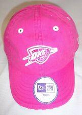 Oklahoma City Thunder Girls Youth Pink Baseball Cap Hat