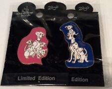 Disney Wdw 101Dalmatians 2/ Pongo Perdita Puppies Mother/Father's Day Le Noc Pin