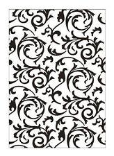 Efco Embossing Folder Florale Muster 4254020 Prägeschabone