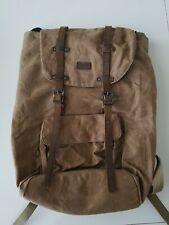BAOSHA Canvas Backpack Laptop/School/College -NWOT!
