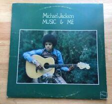 "MICHAEL JACKSON - ""Music & Me"" 1973 Tamla Motown Vinyl LP Record! King of Pop"