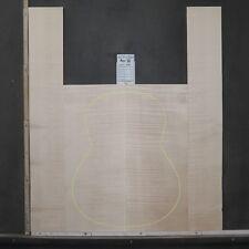 Tonewood Euro Érable Maple Guitar Luthier Bois Acoustic Dossiers And Side Set 18