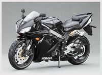 Collection Motorcycles Model 1:12 Maisto Yamaha YZF-R1 Racing Moto Diecast Black
