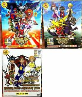 Digimon Fusion: Part 1 2 3 (Chapter 1 - 79 End) ~ All Region ~ Brand New & Seal