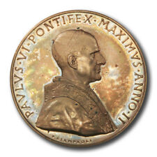 Vatican Pope Paul VI Body of Christ High Relief Bronze Medal 1964  44mm