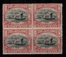 North Borneo Scott 85 Mint NH block