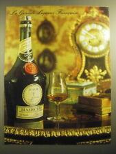 1965 Benedictine Liquor Ad - La Grande Liqueur Francaise