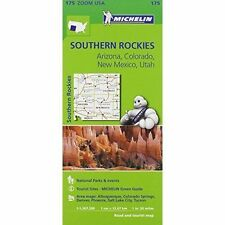 Southern Rockies Zoom Michelin Map 175: Arizona, Colorado, New Mexico, Utah