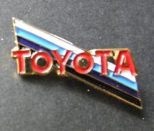 TOYOTA AUTOMOBILE CAR LOGO LAPEL PIN BADGE 3/4 INCH