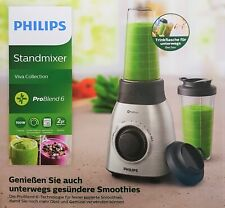 PHILIPS Viva Collection hr3551/00 Stand MIXER SMOOTHIE MAKER 700w, Argento NUOVO OVP