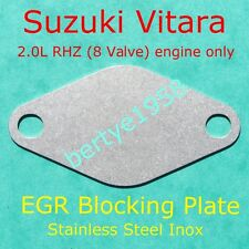 EGR blanking plate SUZUKI Vitara 2.0L RHZ 8 valve engine only blank block Valve