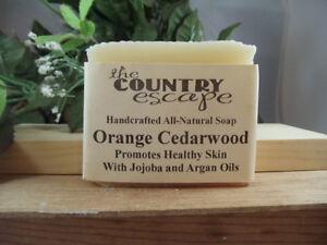 Cedarwood Soap- Handcrafted - Organic - Vegan - Natural - Homemade