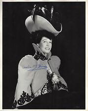 "Cornelia Otis Skinner (Signed) ""PARIS '90"" Theatre World Archives 1952 Photo"