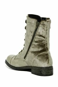 Report Womens Huey Fabric Closed Toe Mid-Calf Fashion Boots, Olive, Size 6.0
