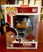 Funko Pop Korra Avatar State # 801 SE Legend Of Korra Nickelodeon Pop Protector