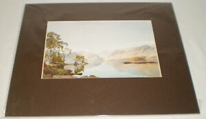 ❤️Lake District Derwentwater from Friars Crag by W Heaton Cooper Print❤️