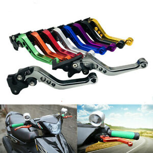 2pcs CNC Motorcycle Drum Disc Hydraulic Line GY6 Brake Clutch Levers Grips
