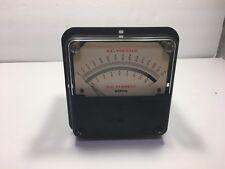 Weston Instruments A.C. Milliammeter Current Tester Volts Meter