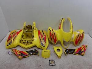 04-09 Suzuki LTZ250 BODY FENDERS FENDER PLASTIC SIDE COVER LT-Z250 Quadsport
