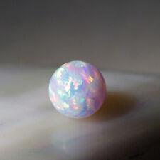 wunderschöne gezüchtete opal perle 6 mm aus japan weiss  multi farben