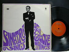 FRANK SINATRA Sings of love and things T 706