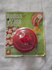VINTAGE  KITCHEN 1970 RED RADISH PRESS UNOPENED PACKAGE