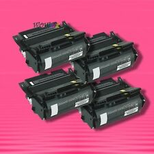 4 NON-OEM TONER alternative for LEXMARK 12A7362 T630 T630DN T630N T630N T630 VE
