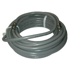 Eagle 25 Ft RG6 Coaxial Cable Gray with F Connector Each End Solid Copper Center