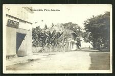 Dumaguete rppc Street Dodd Visayas Philippines stamp 1911