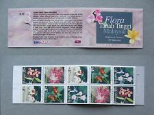 MALAYSIA, booklet 1997 MNH, flower orchid