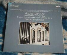 GUSTAV LEONHARDT ALPENLANDER - RENAISSANCE AND BAROQUE ORGANS 2LP RCA RL 30381