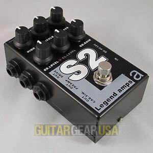 AMT Electronics Guitar Preamp S-2 (Legend Amp Series 2) emulates Soldano amps