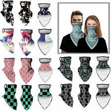 Neck Tube Bandana Scarf Face Mask Balaclava Gaiter Snood Cycling Biker Multi Use