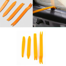 4 in 1 Car Door Plastic Trim Panel Clip Dash Radio Removal Pry Tools Set Kit