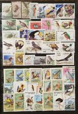 BIRDS Stamp Lot Used Topical Worldwide F1080