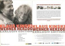 KLAUS KINSKI & WERNER HERZOG EXKLUSIV EDITION --- das Gesamtwerk in einer Box -