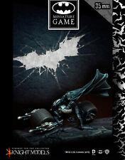 Knight Models BNIB The Dark Knight Rises - BATMAN ON BAT-POD K35BDKR007