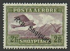Albania C13,lightly hinged.Michel 149. Air Post 1927.Mountains,Eagle.