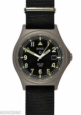 MWC G10 100M SOLAR POWERED TITANIUM MILITARY WATCH WITH SUPER LUMINOVA