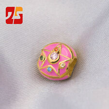 Sailor Moon 20th Anniversary Pendant Charm Bead 925 Silver + 18K Pink