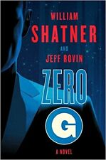 ZERO G # 1 SAMUEL LORD SERIES_NEW HC/DJ_FREE S/H_WILLIAM SHATNER_SCI-FI_MILITARY